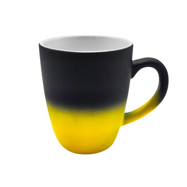 Кружка Omnia Engrave, желтая - фото № 1