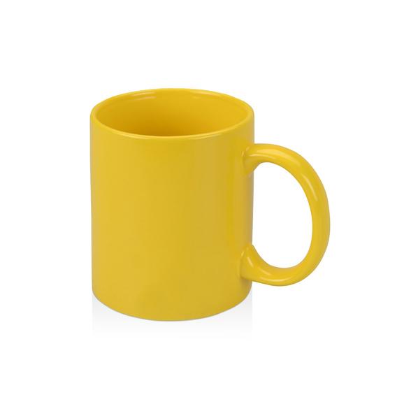 Кружка Standart, желтая - фото № 1