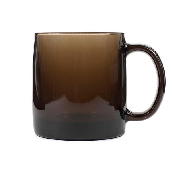 Кружка стеклянная Nordic Eclipse, коричневая - фото № 1