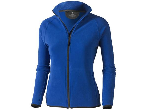 Куртка флисовая женская Elevate Brossard, синяя - фото № 1