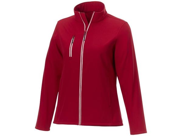Куртка флисовая женская Elevate Orion, красная - фото № 1