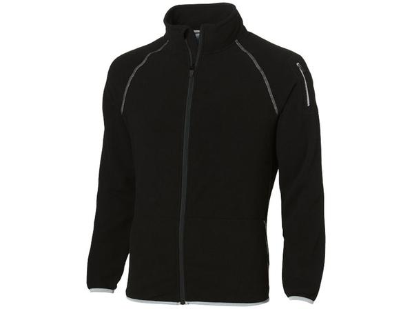 Куртка из микрофлиса мужская Slazenger, черная - фото № 1