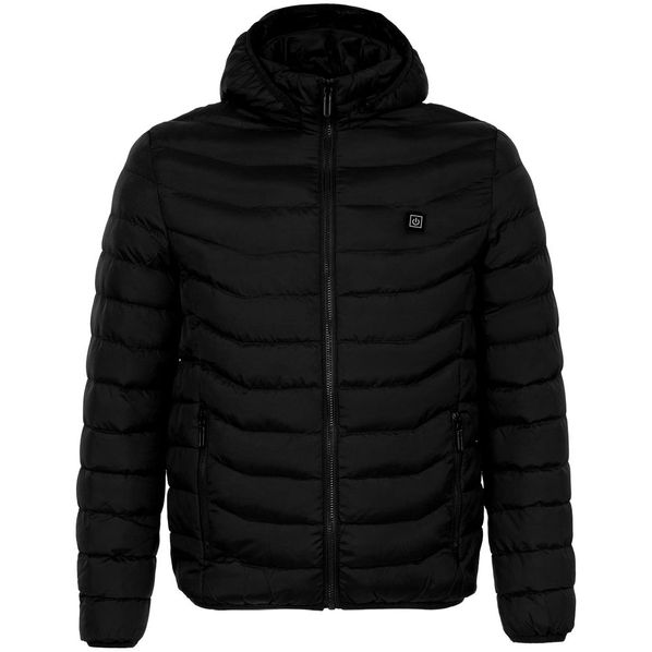 Куртка с подогревом Thermalli Chamonix, черная - фото № 1