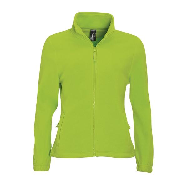 Куртка женская North Women, зеленая лайм - фото № 1