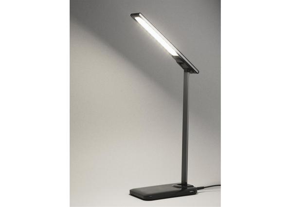 Лампа с беспроводным зарядным устройством High Light, черная - фото № 1