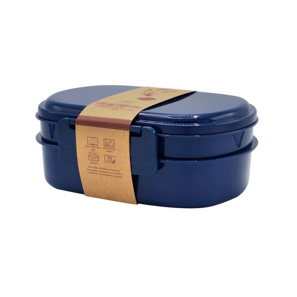 Ланч-бокс Grano, 900 мл, синий - фото № 1