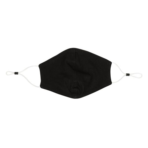 Маска для лица двухслойная многоразовая XD Collection, черная - фото № 1