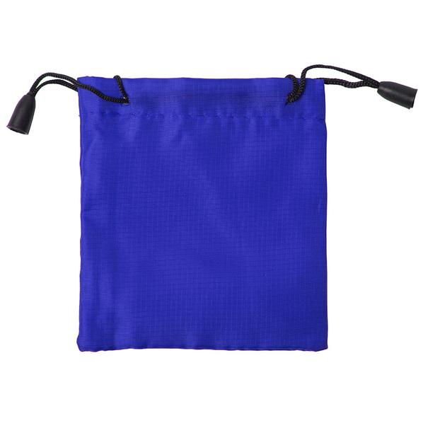 Мешочек подарочный, синий - фото № 1