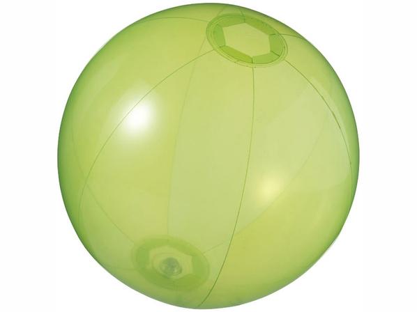 Мяч пляжный Ibiza, прозрачный, зеленый - фото № 1