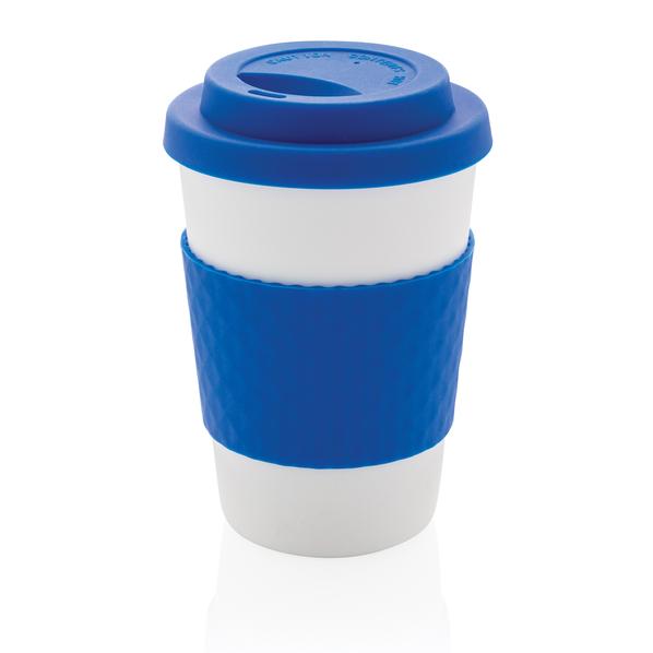 Многоразовый стакан для кофе, синий, 270 мл