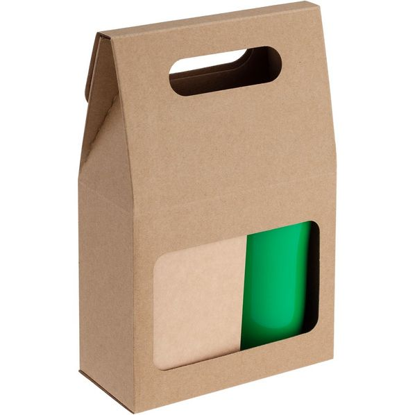 Набор Alliance: чай и термостакан, зеленый - фото № 1