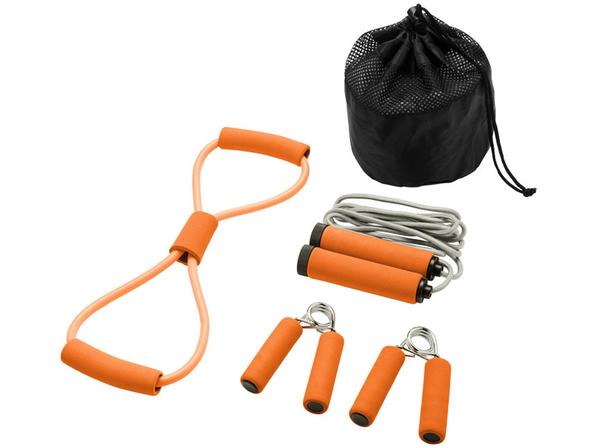 Набор для фитнеса Dwayne, оранжевый - фото № 1