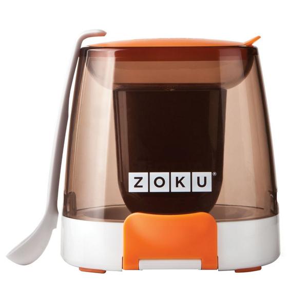 Набор для глазурования мороженого Zoku Chocolate Station, коричневый - фото № 1