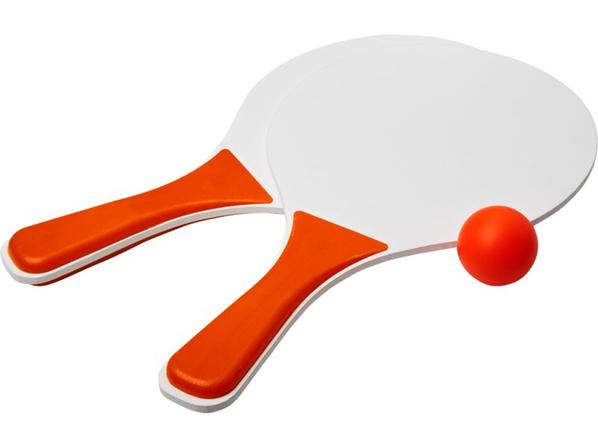 Набор для пляжных игр Bounce, белый/оранжевый - фото № 1