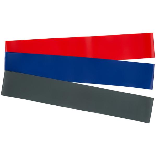 Набор эластичных лент для фитнеса Stride Zen, 3 шт. разного цвета - фото № 1