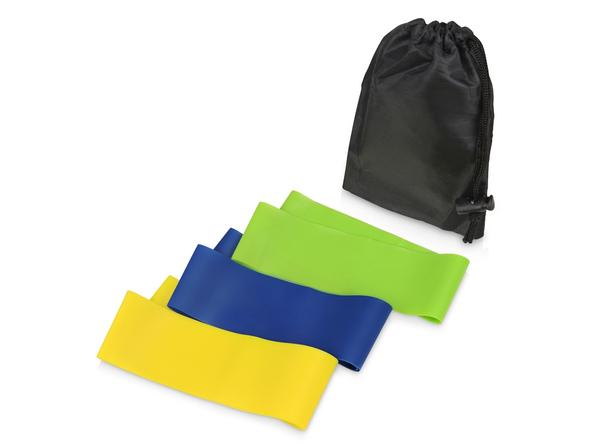 Набор фитнес-резинок Strong, разноцветные - фото № 1
