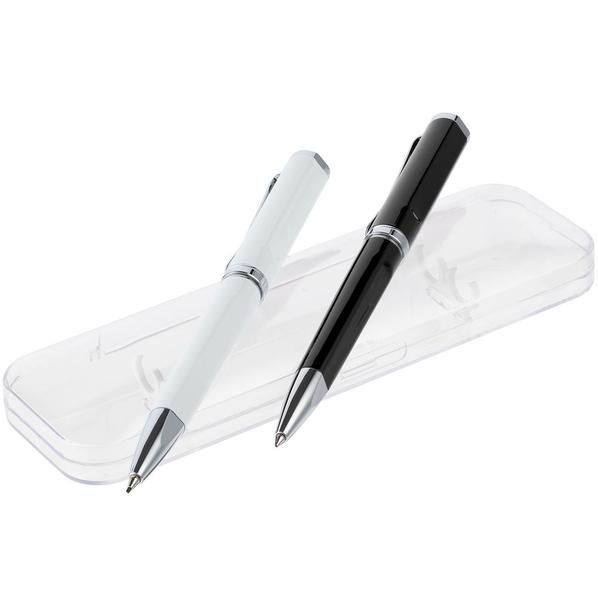 Набор Phase: ручка и карандаш, черный с белым - фото № 1