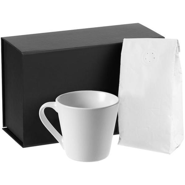 Набор Silenzio: кофе и кружка, белый - фото № 1