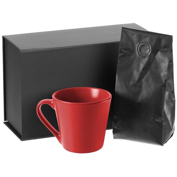 Набор Silenzio: кофе и кружка, красный - фото № 1