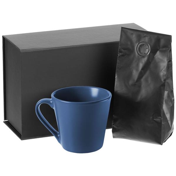 Набор Silenzio: кофе и кружка, синий - фото № 1