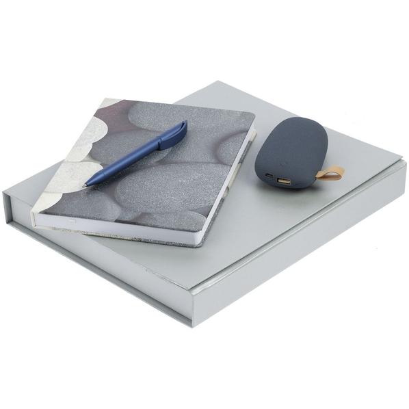 Набор «Время собирать камни», серо-синий - фото № 1