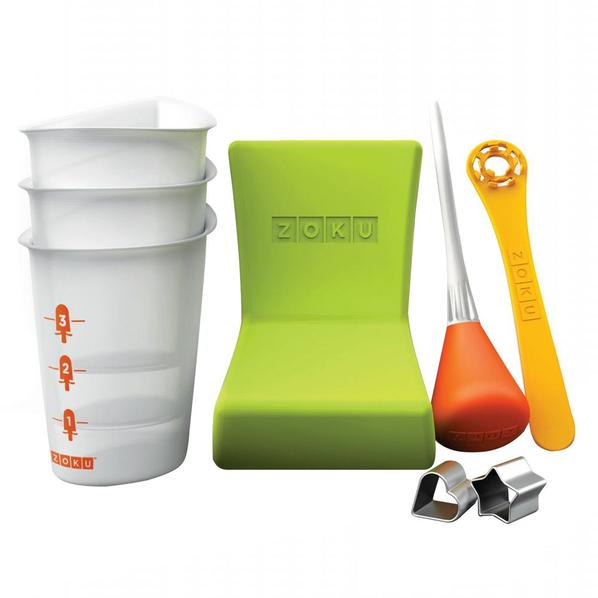 Набор инструментов для украшения мороженого Zoku Quick Pop Tools, разноцветный - фото № 1