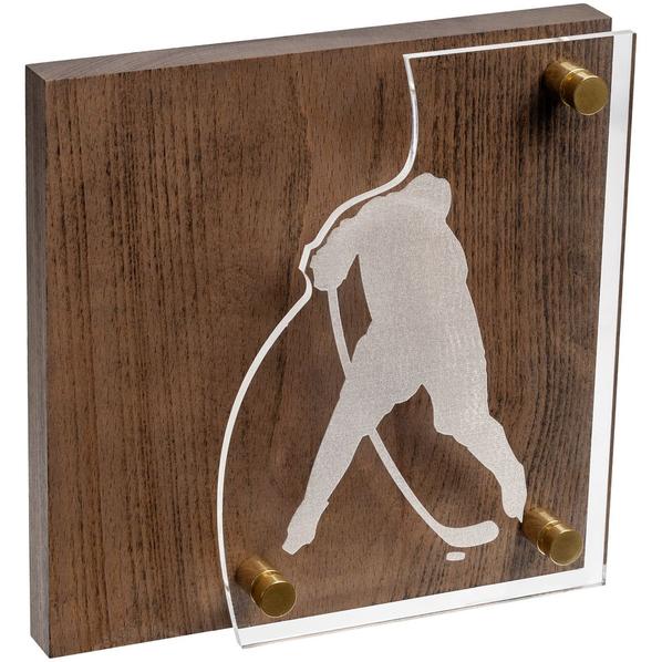 Награда Celebration, хоккей, коричневый/серебристый