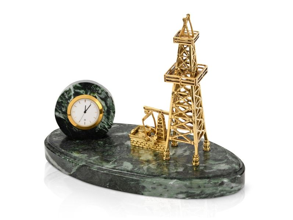 Настольный прибор Нефтяная симфония, золотой - фото № 1