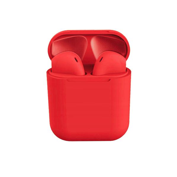 Наушники беспроводные Bluetooth LittlePods, красные - фото № 1