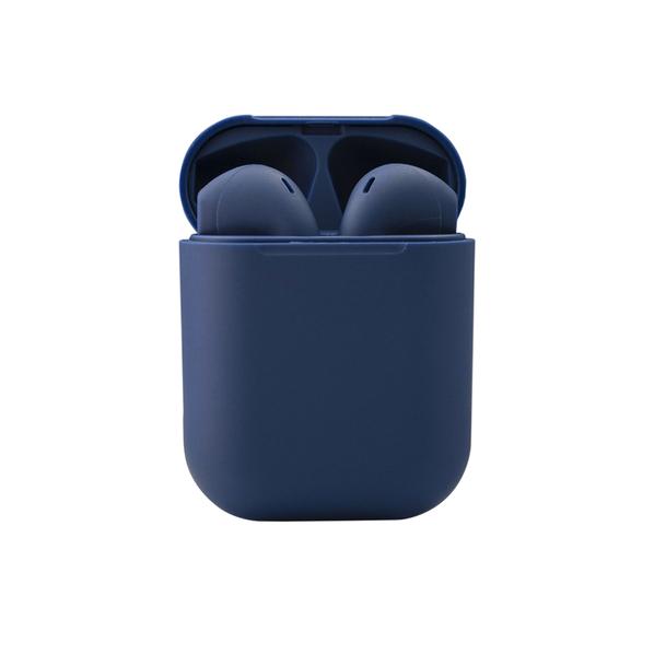 Наушники беспроводные Bluetooth LittlePods, синие - фото № 1