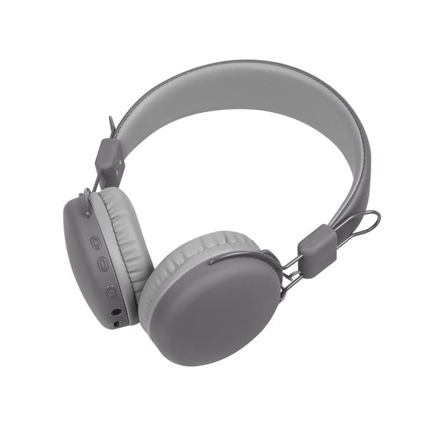 Наушники беспроводные накладные Rombica Mysound BH 03, серые - фото № 1