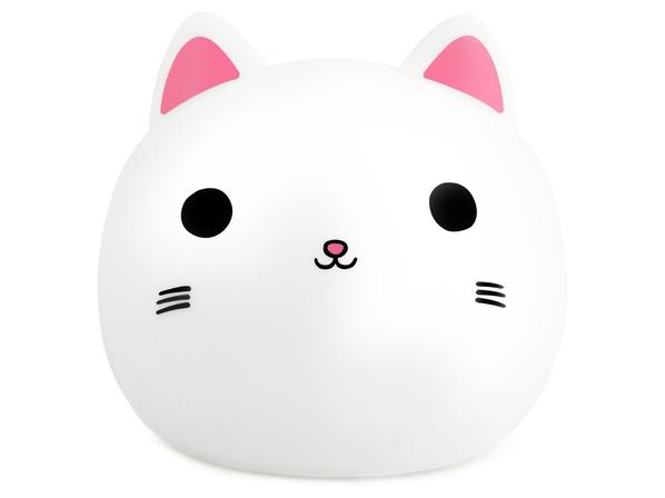 Ночник Rombica LED Kitty, белый - фото № 1