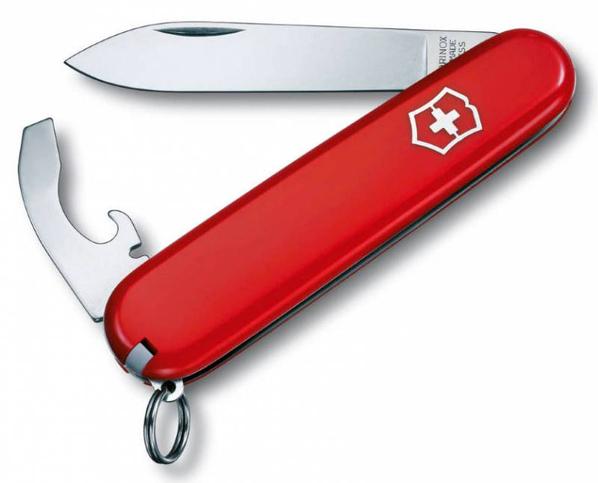 Нож Victorinox Bantam, красный, 84 мм, 8 функций