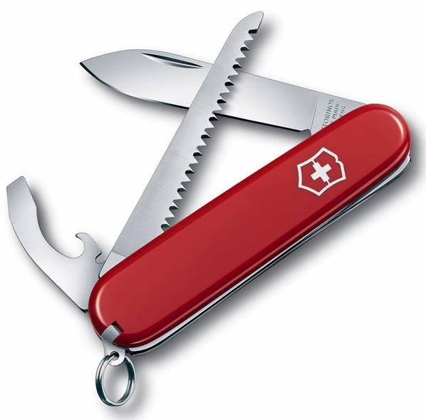 Нож Victorinox Walker, 8.4 см, красный