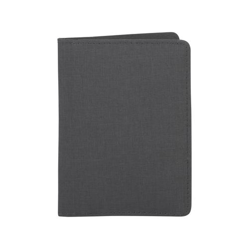 Обложка для паспорта и кредиток с RFID - защитой от считывания данных, черный - фото № 1