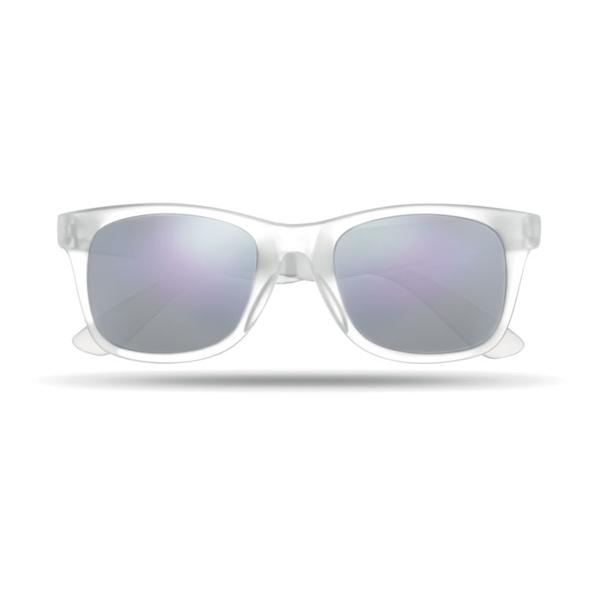Очки солнцезащитные, белые - фото № 1