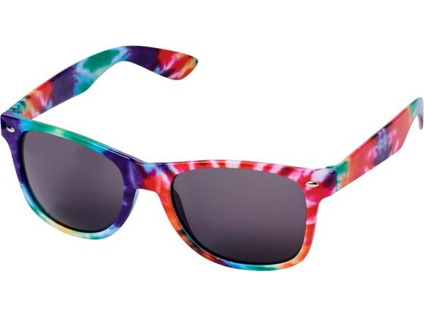 Очки солнцезащитные Sun Ray в пестрой оправе, разноцветные - фото № 1