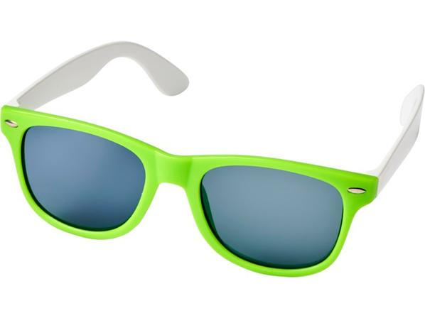 Очки солнцезащитные Sun Ray в стиле ретро, салатовые - фото № 1