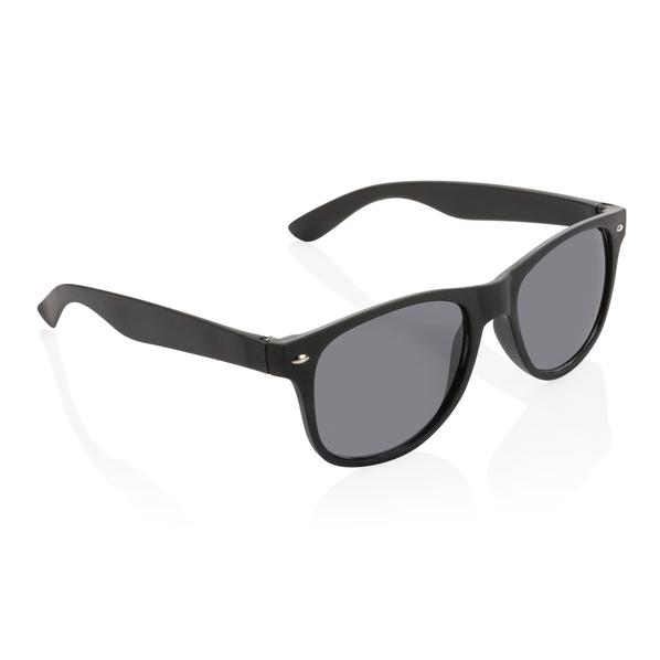 Очки солнцезащитные UV 400, черные - фото № 1