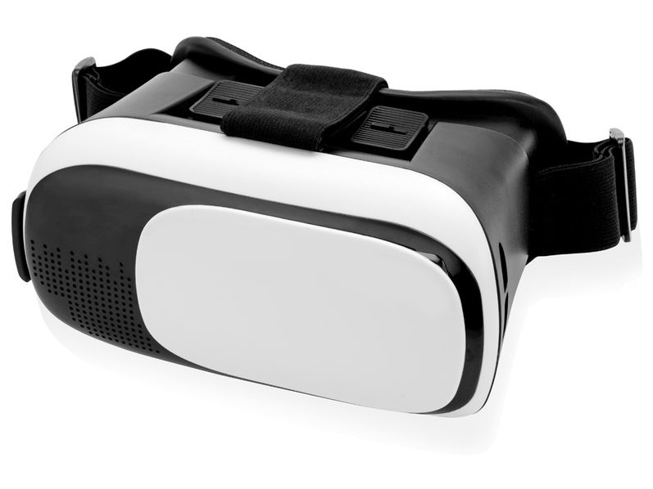 Очки виртуальной реальности с креплением на голове Reality, черные/ белые - фото № 1