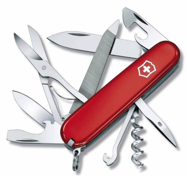 Офицерский нож Mountaineer 91, красный - фото № 1