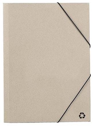 Папка из восстановленного картона Ecosum А4, бежевая - фото № 1