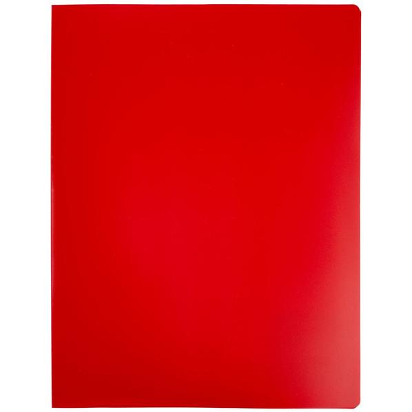 Папка с прижимом Expert А4, красная - фото № 1