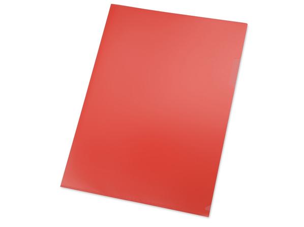 Папка уголок А4, красный