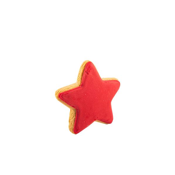 Печенье Звезда, красное - фото № 1