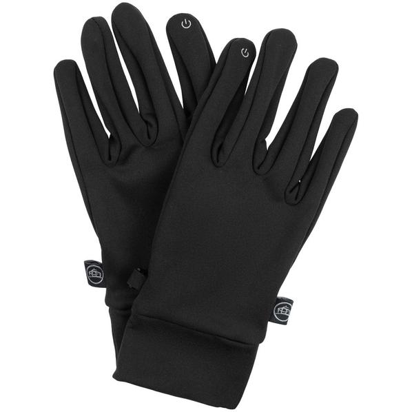 Перчатки сенсорные Stormtech Knitted Touch, черные - фото № 1
