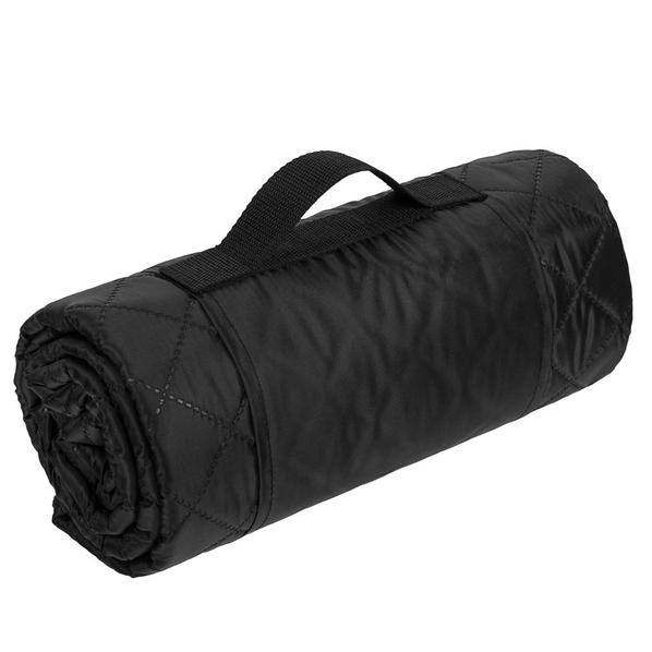 Плед для пикника Comfy, черный - фото № 1