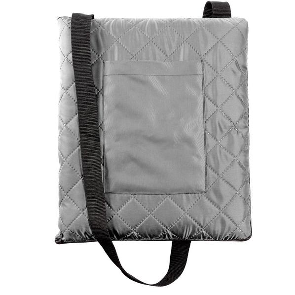 Плед для пикника Soft & Dry, серый - фото № 1