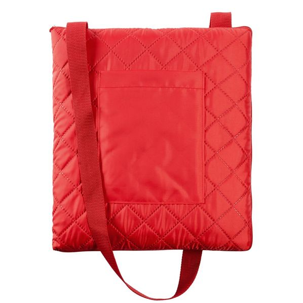 Плед для пикника Soft & Dry, темно-красный - фото № 1