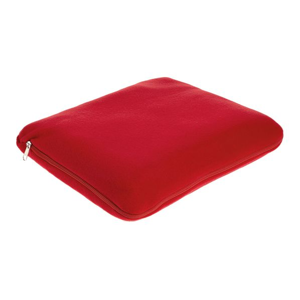 Плед-подушка «Вояж», красный - фото № 1